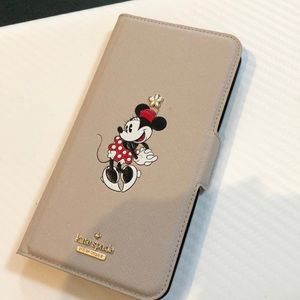 Kate Spade iPhone 8 Plus wallet case Minnie Mouse